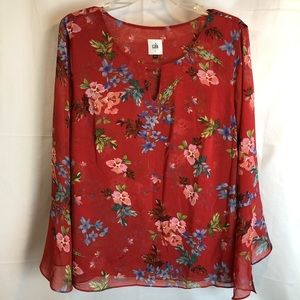CAbi Fall 2018 Devoted Blouse Double Lined #3590